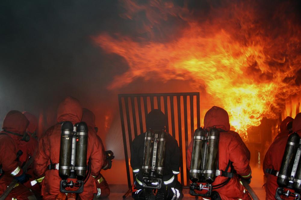 Fire Fighter Training Skövde Schweden Nr.1