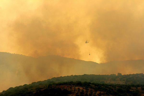 Fire in Koroni / Greece 2007