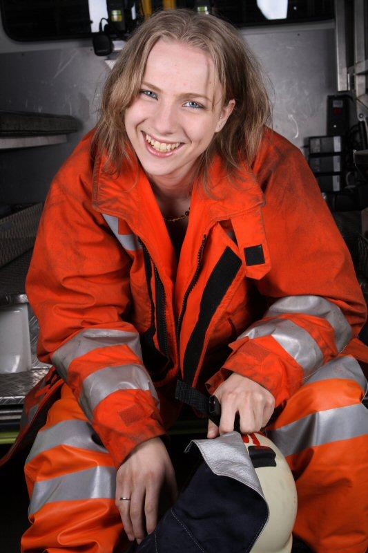 Firefighting Girl 2
