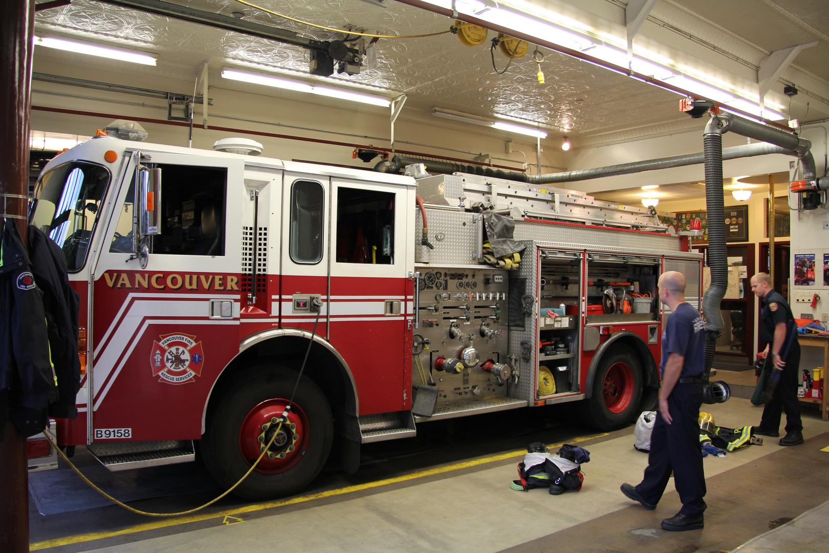 Firefighting Truck # B9158