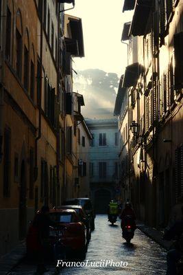 Firenze al risveglio.