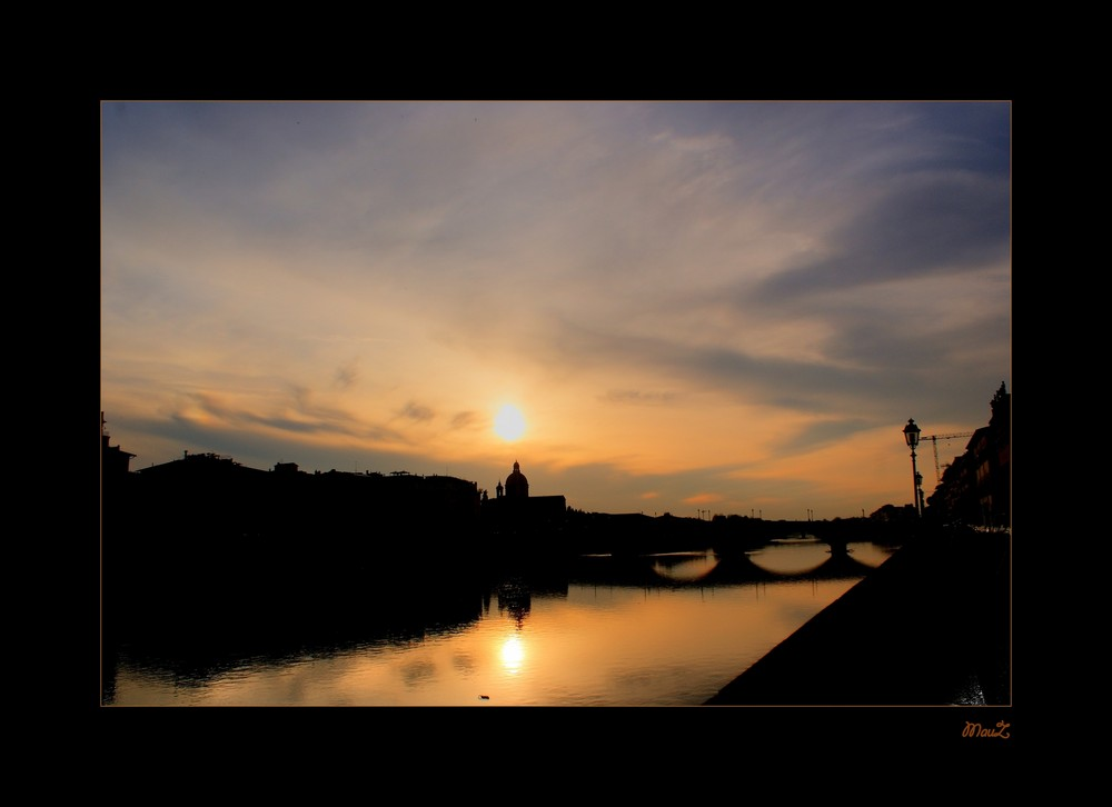 .. Firenze al tramonto....