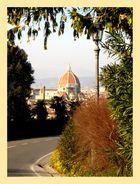 Firenze con cornice
