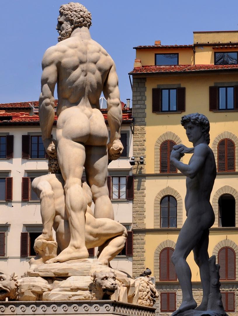 Firenze - Hercules und David
