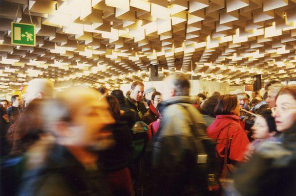 Firenze Nov. 2002 - Ruhe in Bewegung