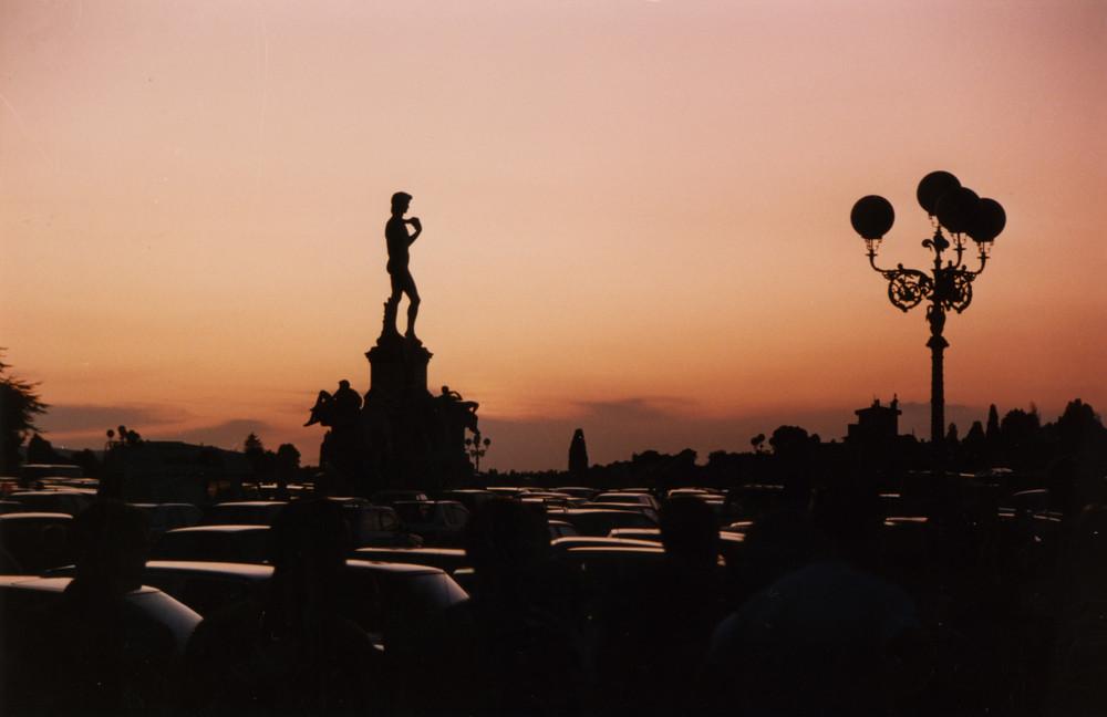 Firenze - Piazzale Michelangelo al tramonto