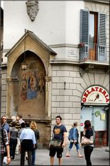 Firenze street....Piazza S. Maria Novella.