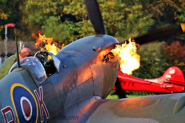 Firespitting Spitfire
