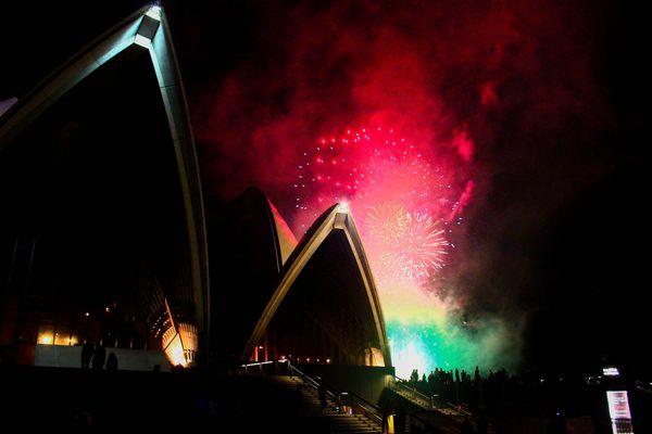 Firework Opera House Sydney