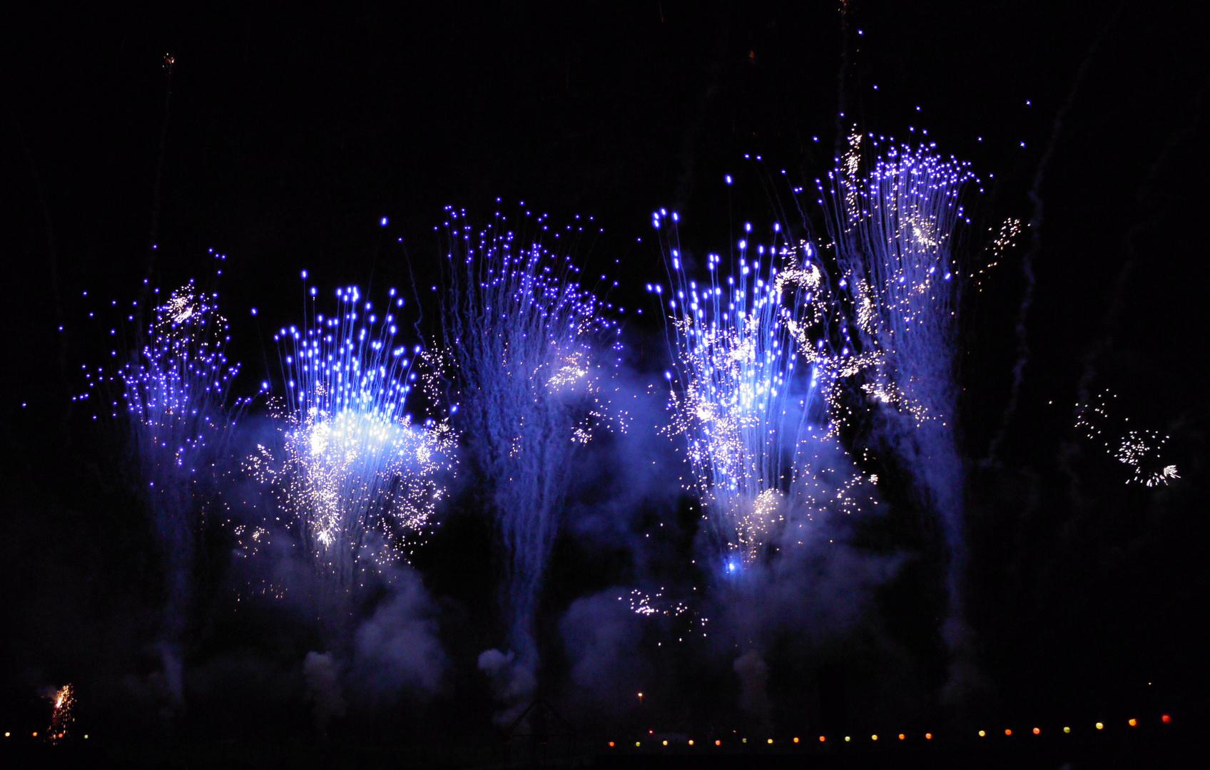 fireworks at ludwigsburg castle III