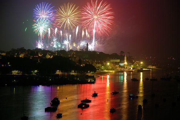 Fireworks in Benodet