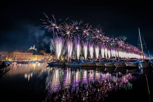 Fireworks Marseille 2
