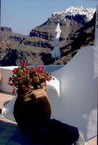 Firostefani auf Santorin
