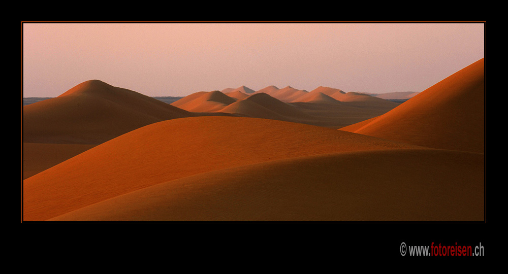First LIght in the Dunes