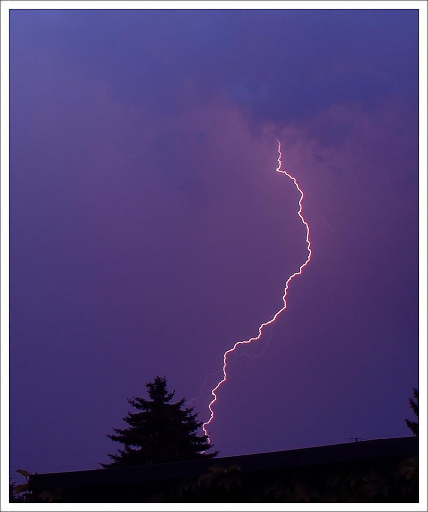 First Lightning ;-)