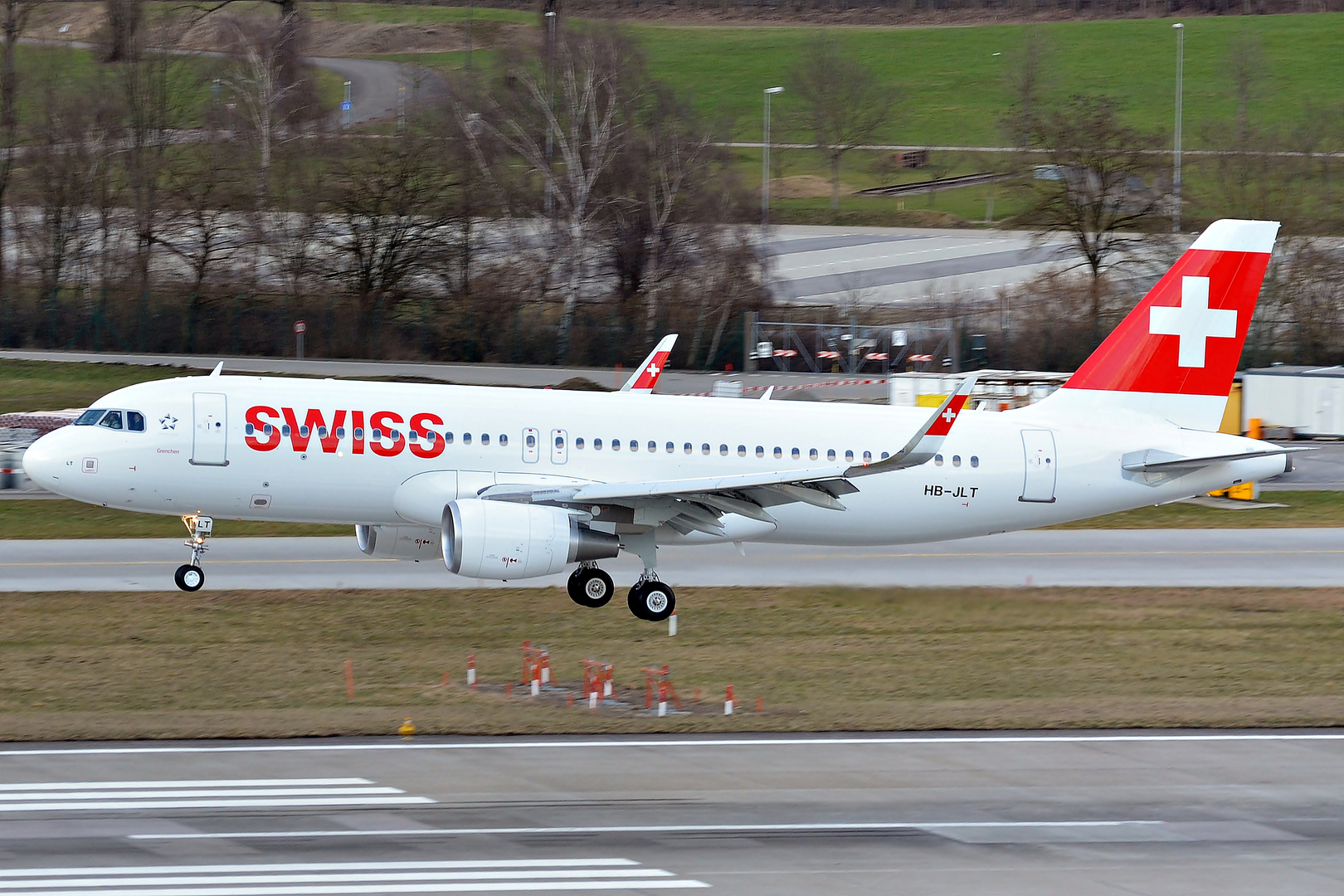 First Sharklet-A320 for SWISS