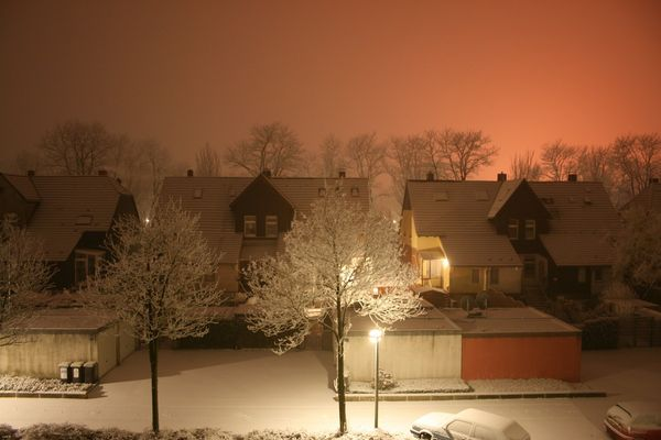 First Snow With EOS ;)