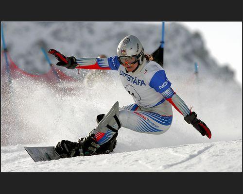 FIS Snowboard WM 2007 Arosa / Ladies' Parallel Giant Slalom