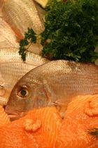 Fisch mit Petersilie