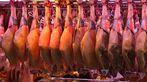 Fisch- und Gemüsemarkt in Barcelona La Boqueria