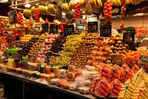 Fisch- und Gemüsemarkt La Boqueria in Barcelona