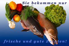 Fisch-Werbung