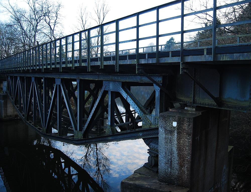 Fischbauchbrücke in Wuppertal-Beyenburg