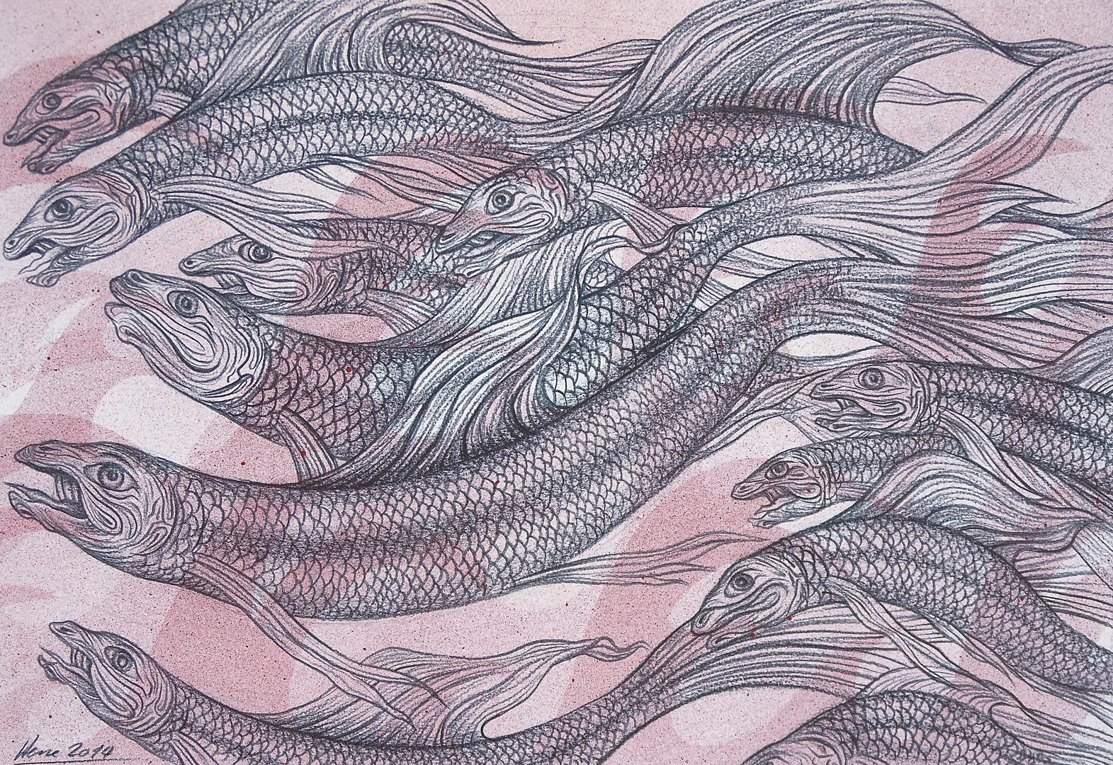 Fische rot