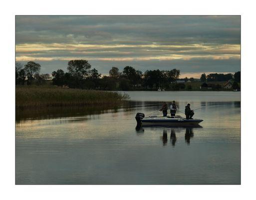 Fischen am Abend