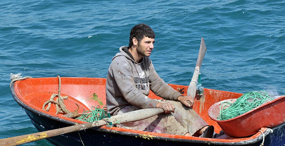 Fischer auf dem Bosporus