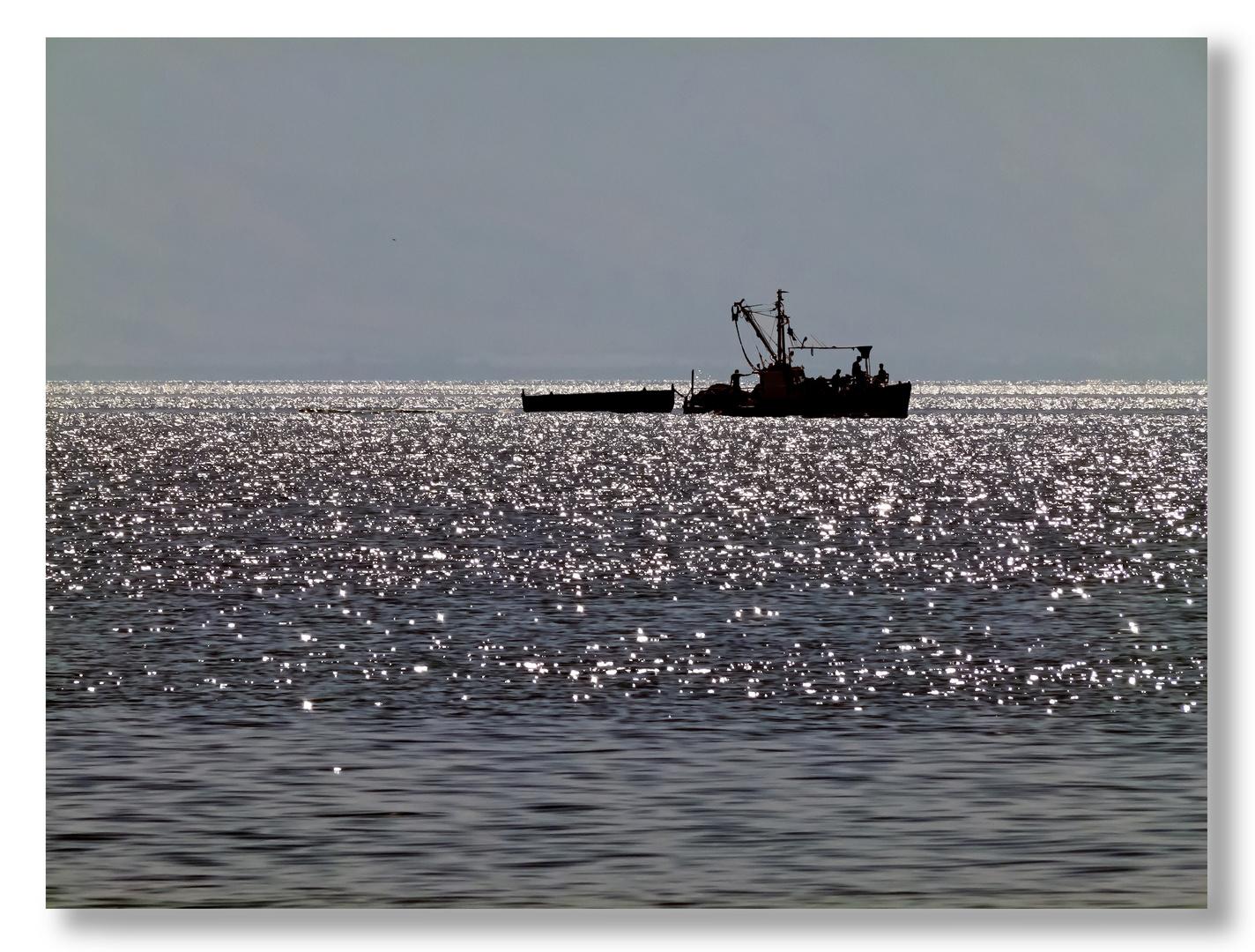 Fischer auf dem See Genezareth