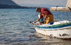 Fischer auf Silzilen