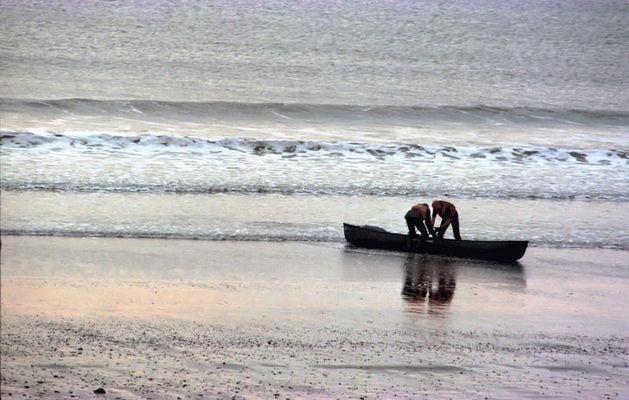 Fischer aus Aberystwyth (Wales)