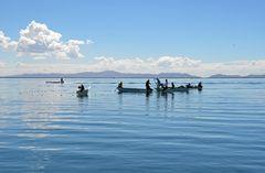 Fischer bei ihrer Arbeit auf dem Titicacasee (2)