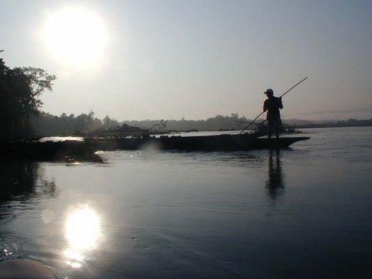 Fischer im Chitwan