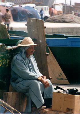 Fischer in Essauira