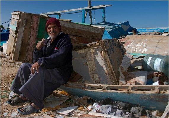 Fischer in Hurghada
