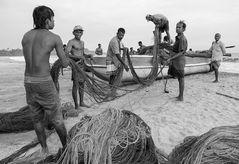 Fischer in Talala (Sri Lanka)