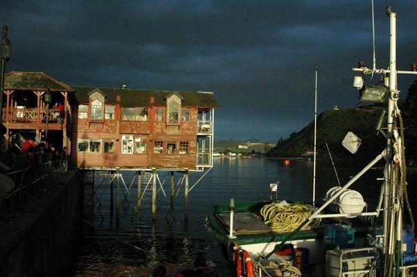 Fischer kommen Heim / Puerto Montt / Chile