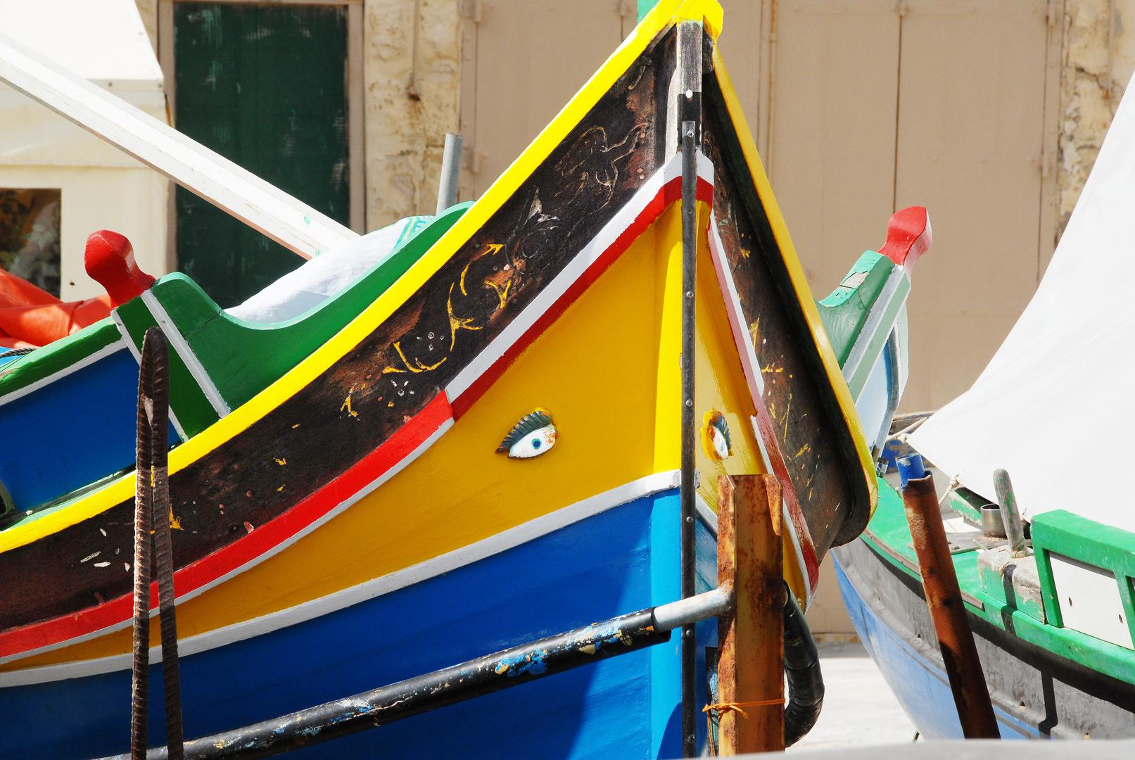 Fischerboot auf Malta