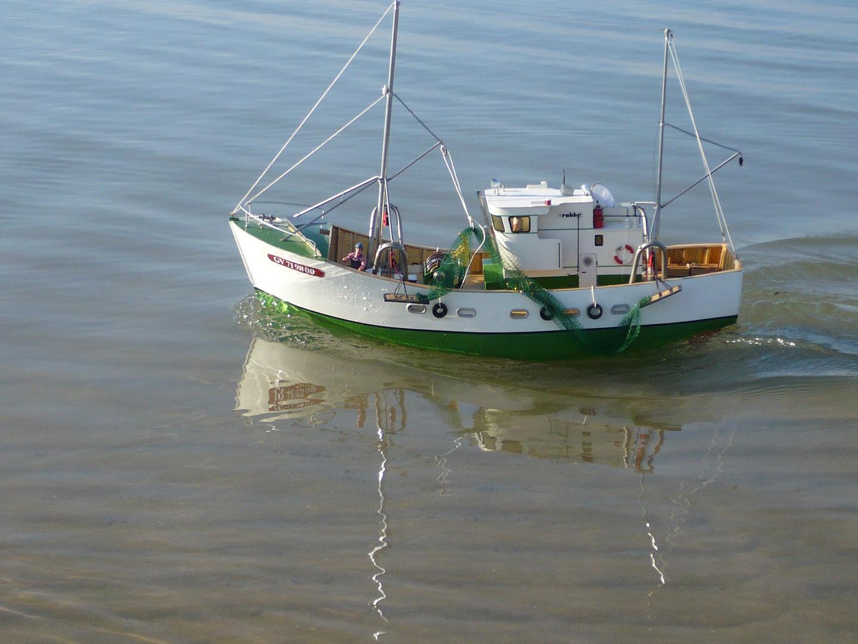 Fischerboot ca.50 cm lang