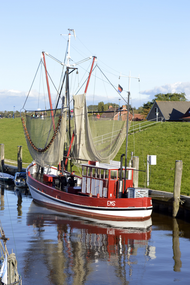 Fischerboot-Idylle