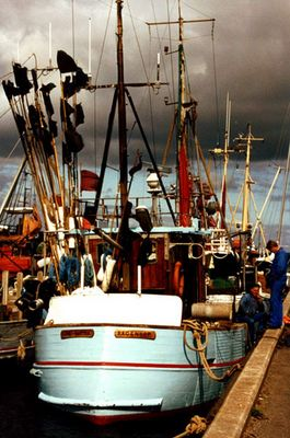 Fischerboot in Bagenkop