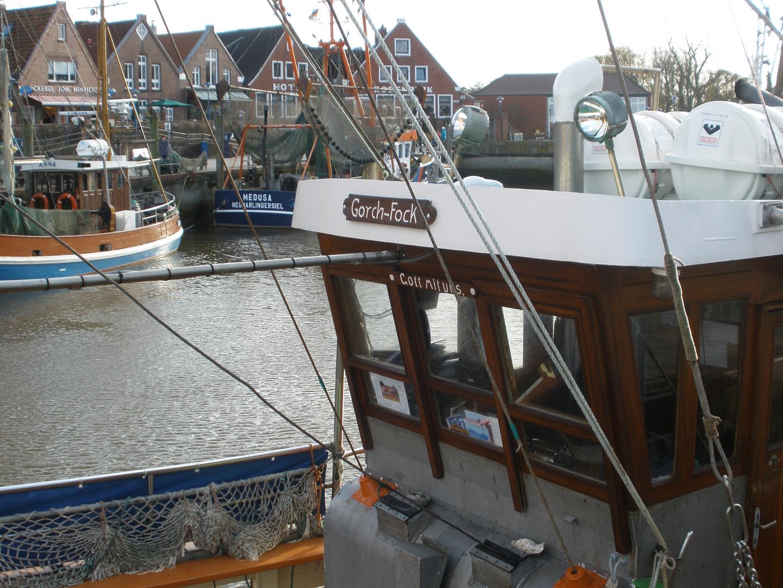 Fischerboot in Neuharlingersiel