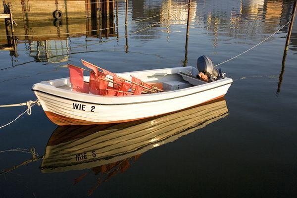 Fischerboot in Wieck