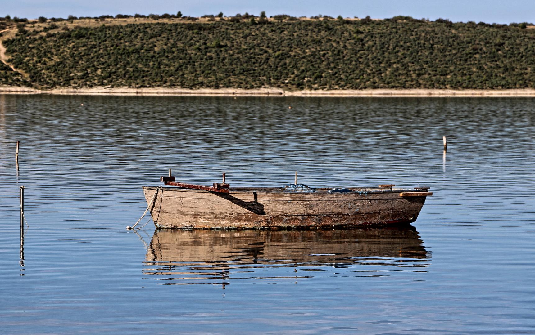 Fischerboot Ljubac