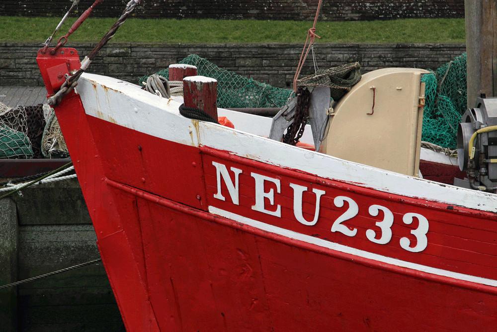 Fischerboot Neu