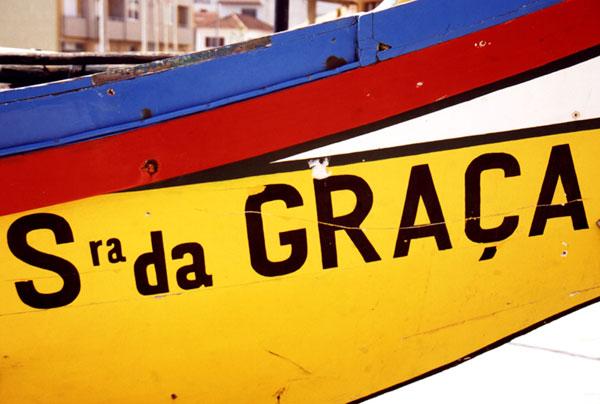 Fischerboot, Portugal
