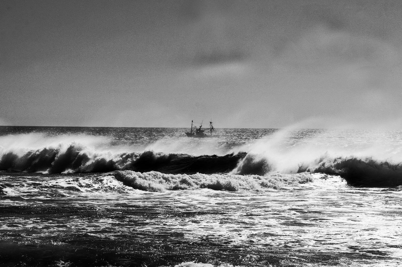 Fischerboot vor Los Christianos