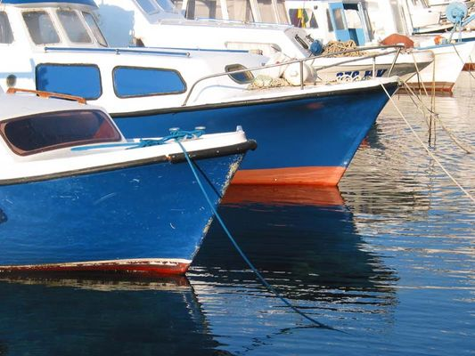 Fischerboote in Kroatien